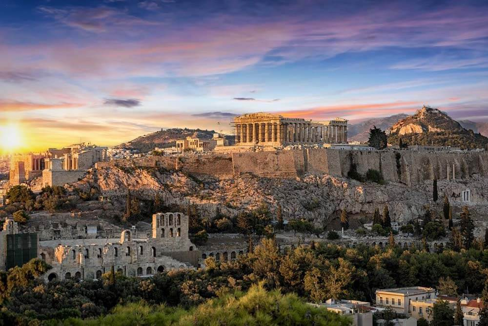 Athen Mietwagenrundreise Peloponnes