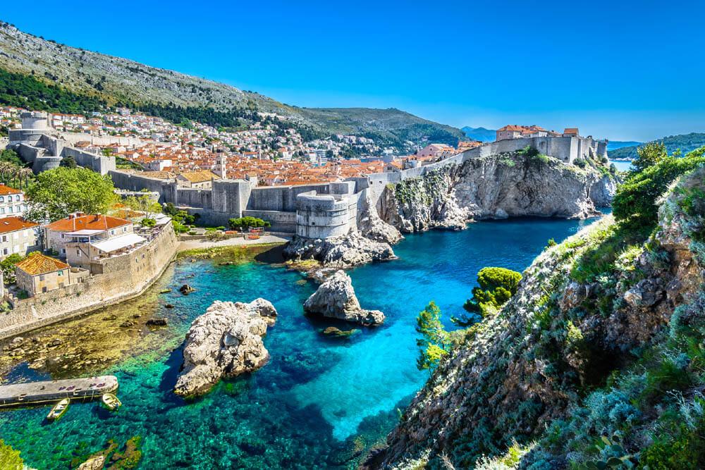Dubrovnik UNESCO Mietwagenrundreise Balkan