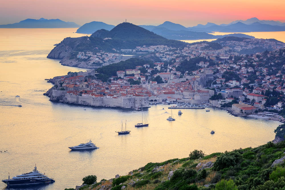 Dubrovnik UNESCO Mietwagenrundreise Kroatien