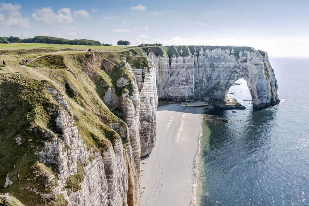 Etretat Autorundreise Normandie, Bretagne, Loire
