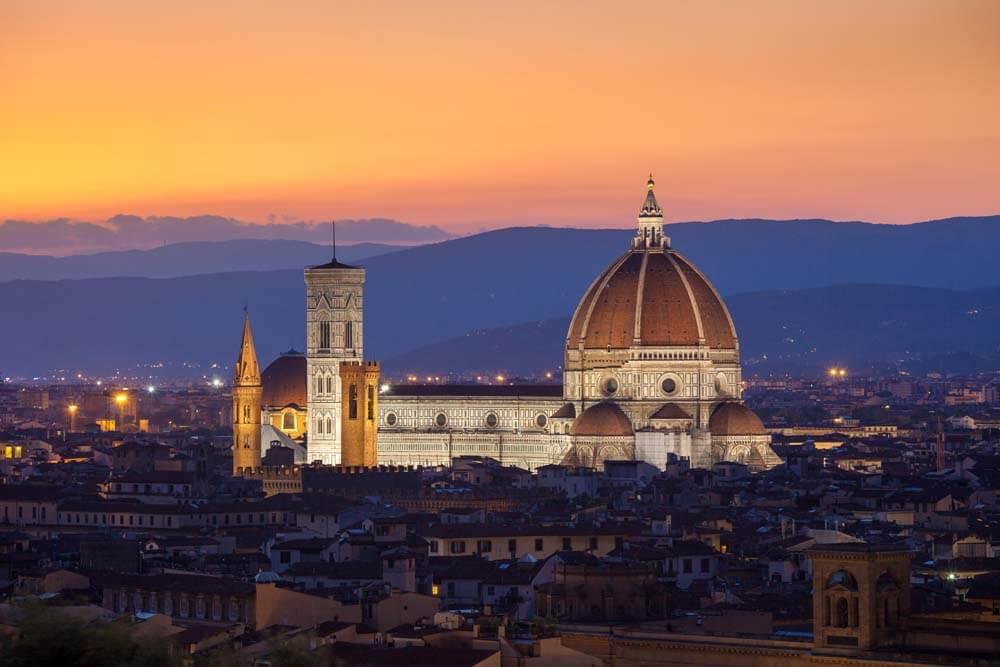Florenz Autorundreise Italien