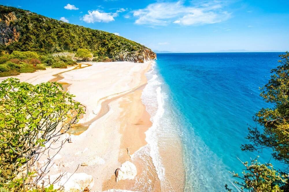 Gjipe Beach Mietwagenrundreise Albanien
