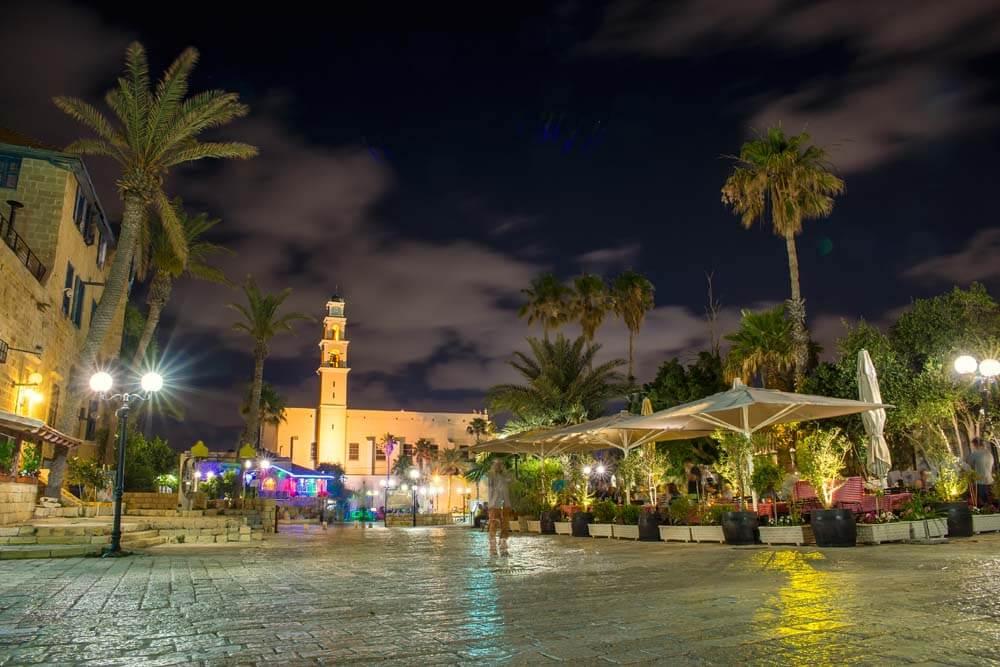 Haifa by night Mietwagenrundreise Israel