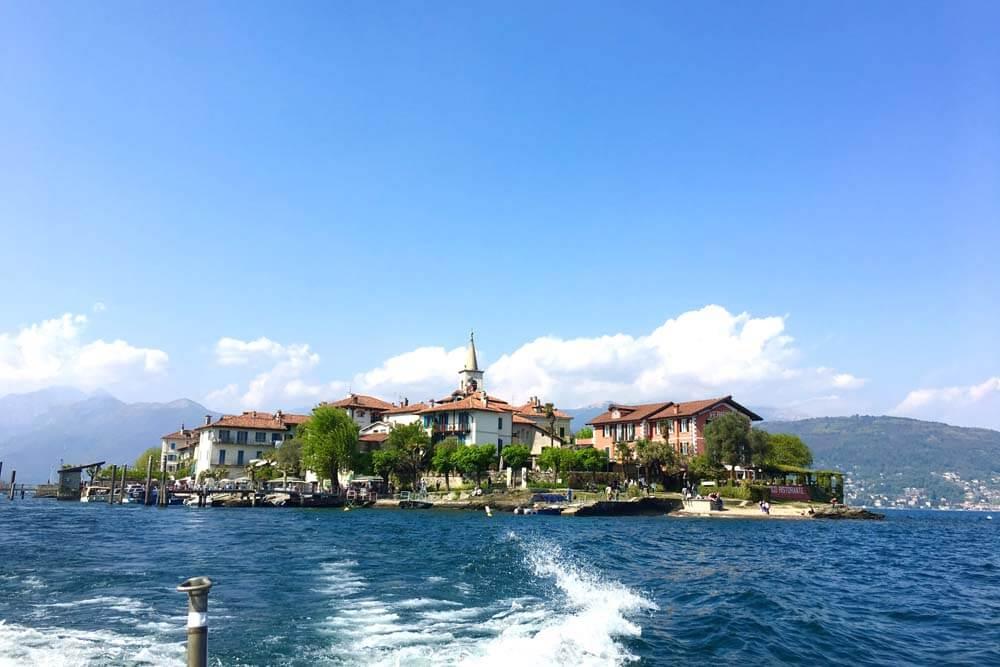 Isola Pescatore Autorundreise Oberitalien