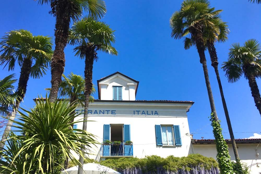 Isola Pescatore Ristorante Autorundreise Oberitalien
