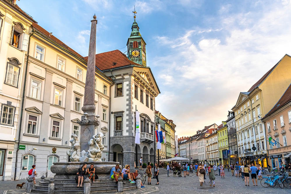 Ljubljana Altstadt Mietwagenrundreise Istrien Inselträume