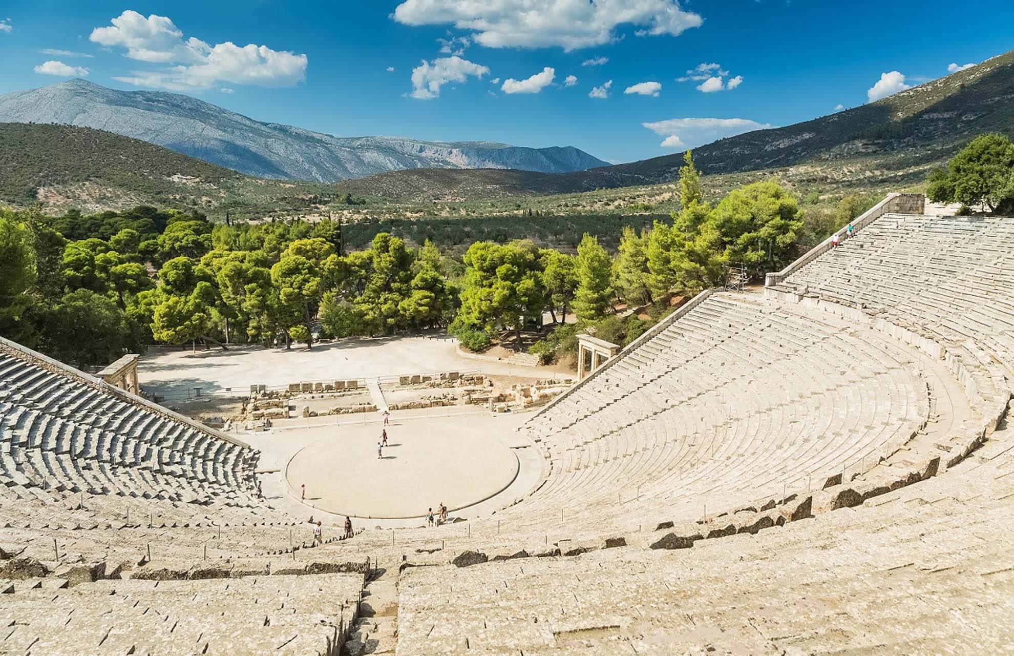 Mietwagenrundreise Höhepunkte der griechischen Halbinsel