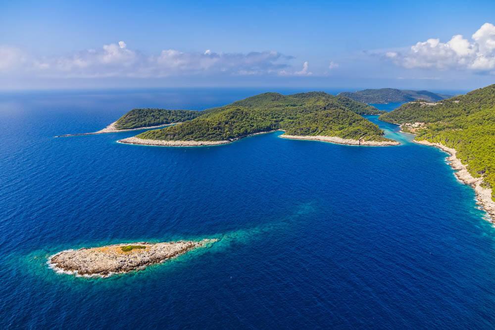 Mljet Nationalpark Mietwagenrundreise Kroatien