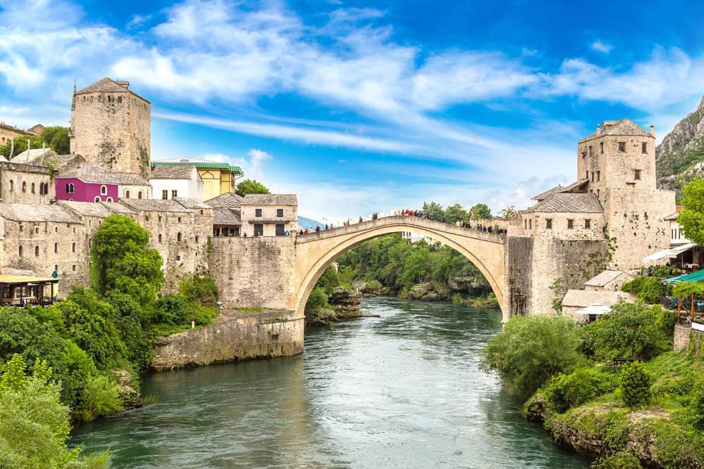 Mostar Mietwagenrundreise Balkan