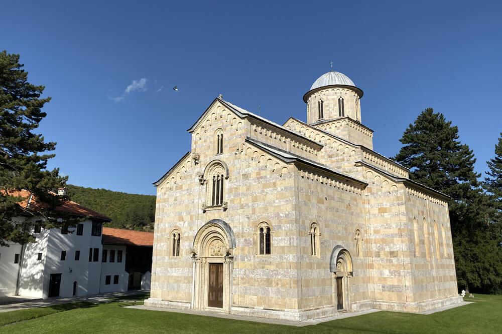 Orthodox Kirche UNESCO Mietwagenrundreise Kosovo