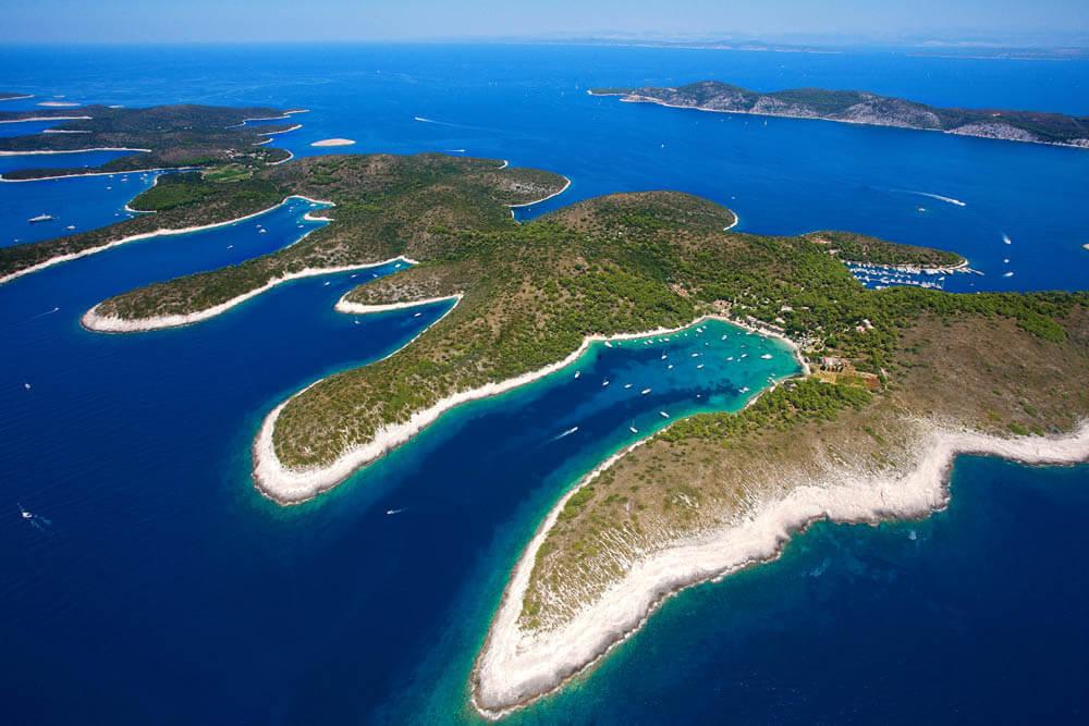 Pakleni Islands Hölleninseln Mietwagenrundreise Kroatien