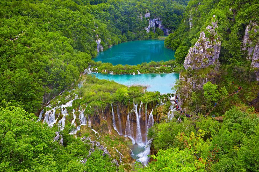 Plitvice Nationalpark Mietwagenrundreise Kroatien