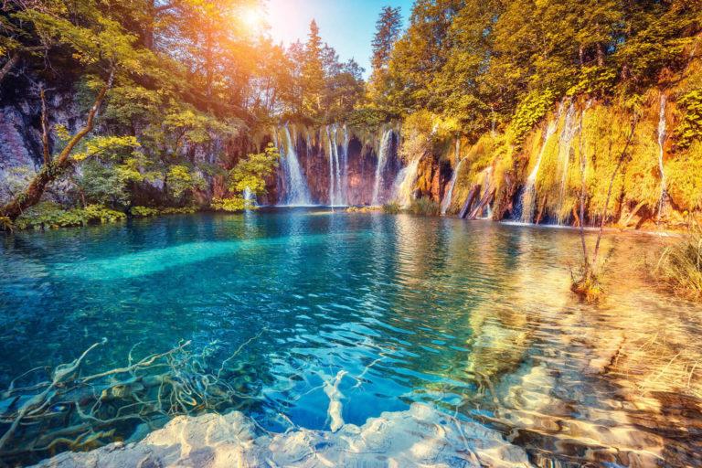 Küste Kroatiens und Nationalparks