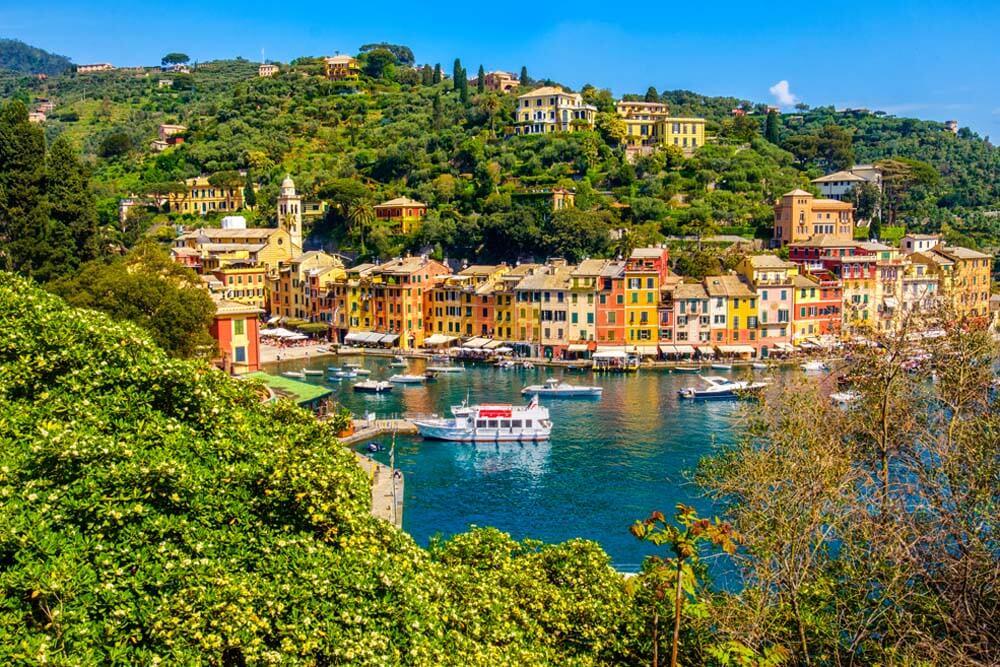 Portofino Autorundreise Italien