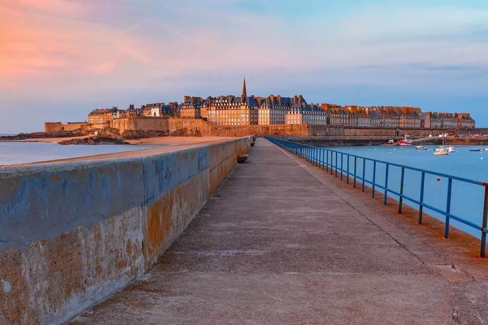 Saint Malo Autorundreise Normandie, Bretagne, Loire