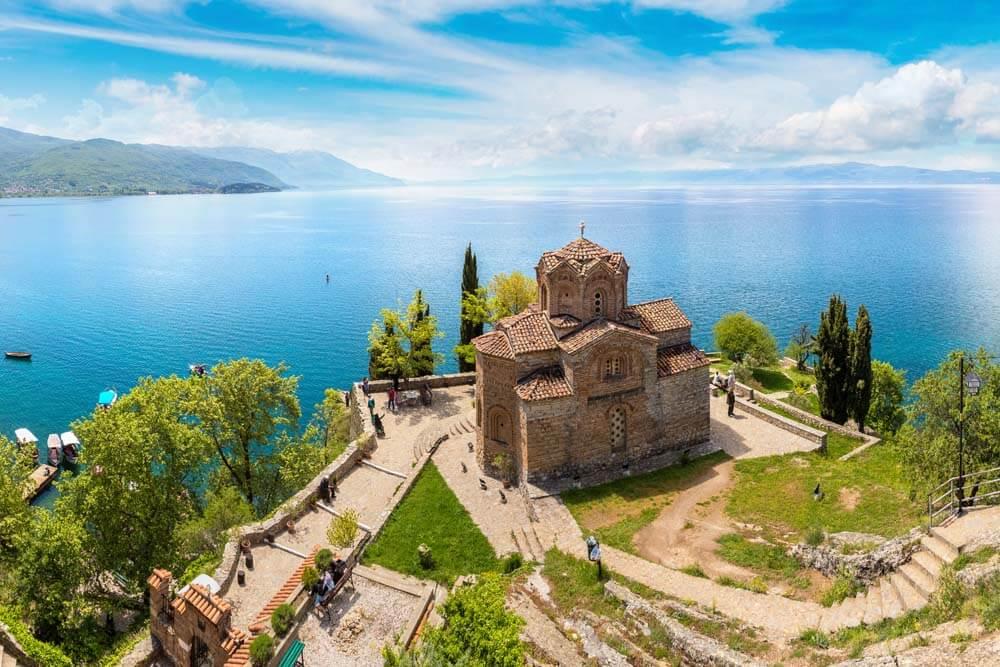 See von Ohrid UNESCO Mietwagenrundreise Albanien,Nordmazedonien,Kosovo