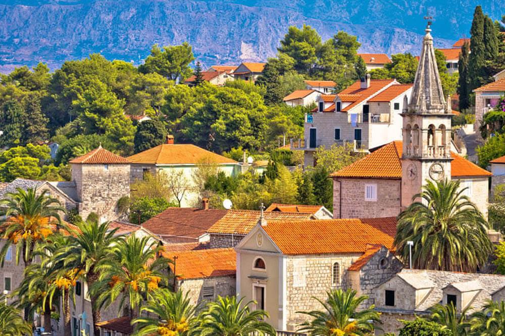 Splitska Insel Brac Mietwagenrundreise Kroatien