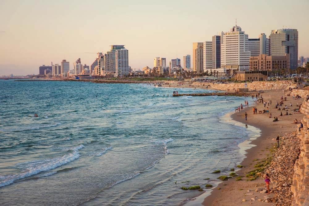 Tel Aviv Mietwagenrundreise Israel