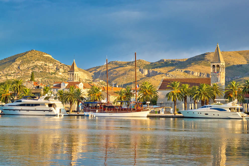 Trogir UNESCO Mietwagenrundreise Kroatien