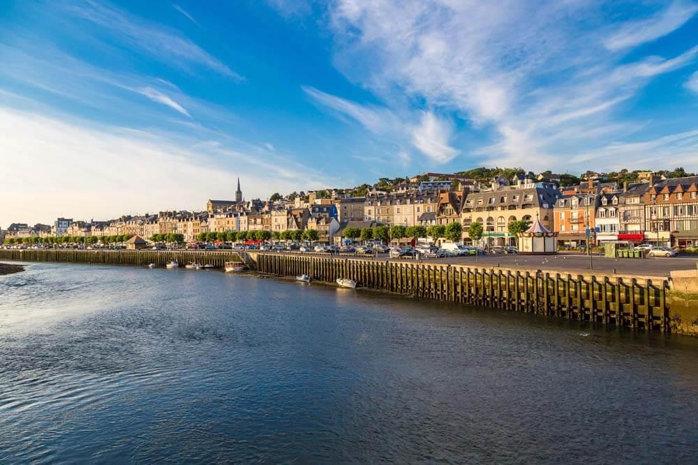 Trouville Autorundreise Bretagne, Normandie, Loire