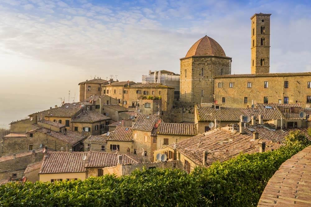 Volterra Autorundreise Italien