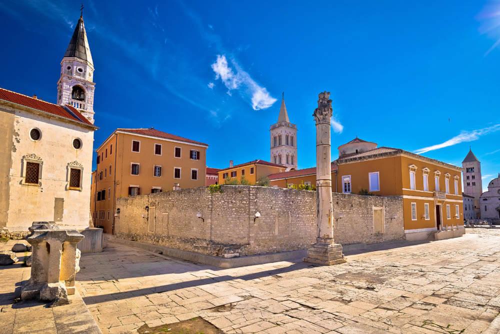 Zadar St. Donat Mietwagenrundreise Kroatien