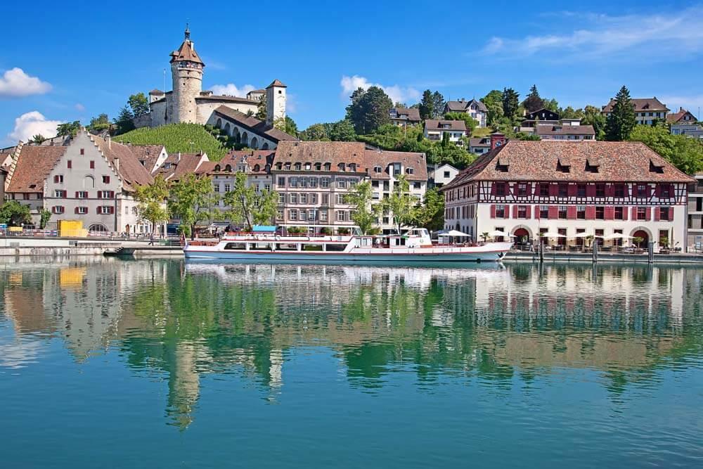 Schaffhausen Munot Schlemmen Schweiz Autorundreise