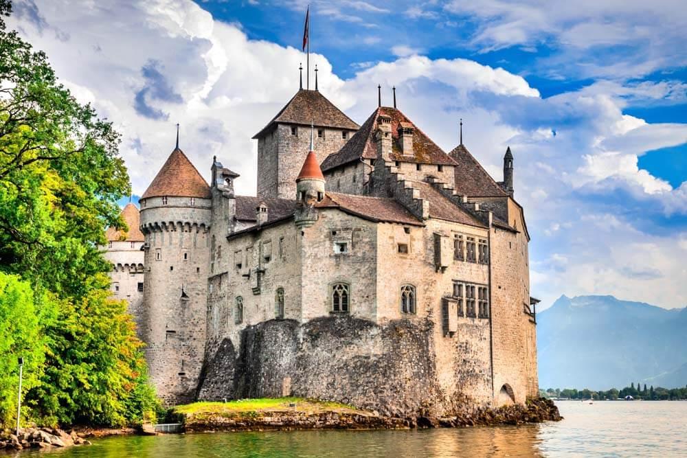 Schloss Chillon Gourmettour Romandie