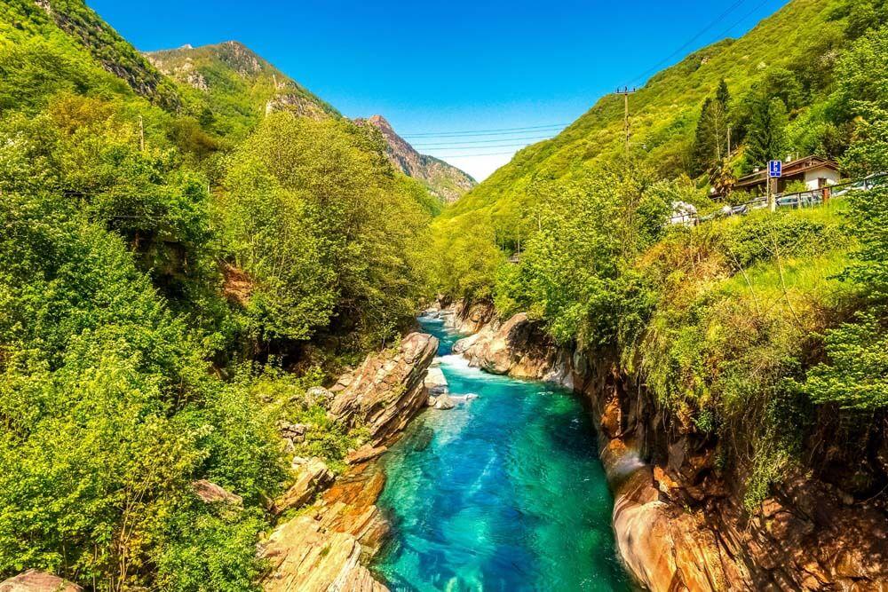 Verzasca Schlemmen Schweiz Autorundreise